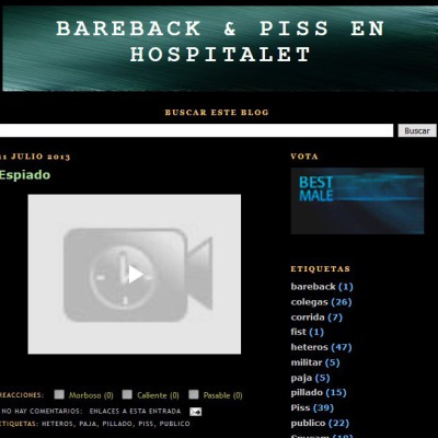 Bareback and Piss En Hospitalet
