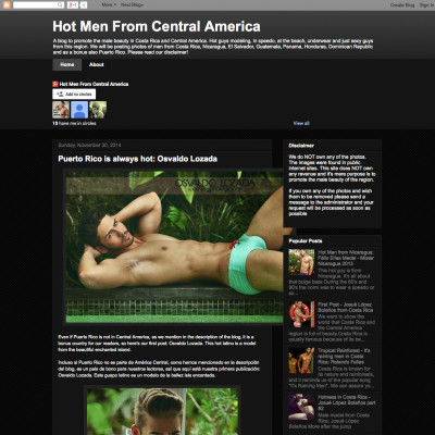 Hot Men From Costa Rica and Central America