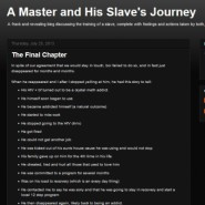 A Master and His Slave's Journey