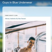 Guys in Blue Underwear