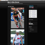 Men In Bike Short