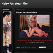 Hairy Amateur Men