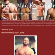Hairy Man Eye Candy