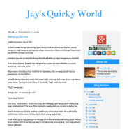 Jay's Quirky World
