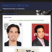 Famosos sin ropa (Naked male stars)