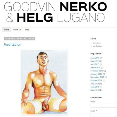 Gay Art - Goodvin Nerko & Helg Lugano