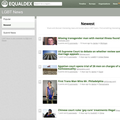 LGBT News: Hacker News for LGBT Topics