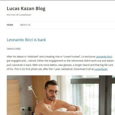 The Lucas Kazan blog
