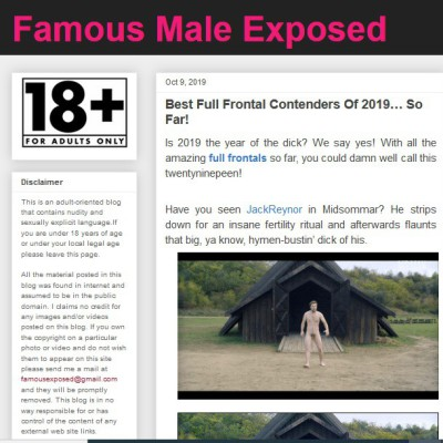 Famous Male Exposed