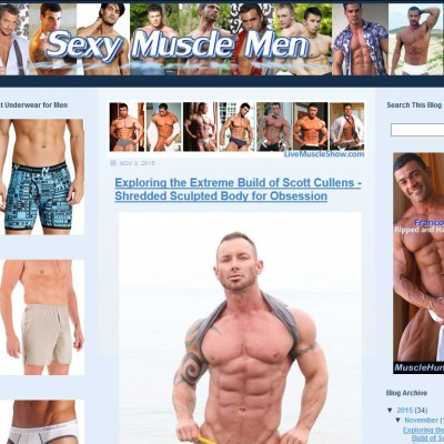 Sexy Muscle Men