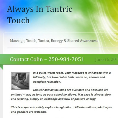 Tantric Touch Massage