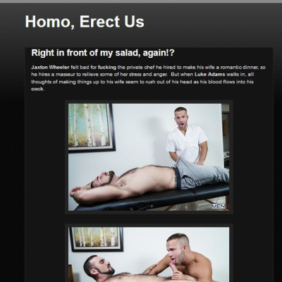 Homo, Erect Us!