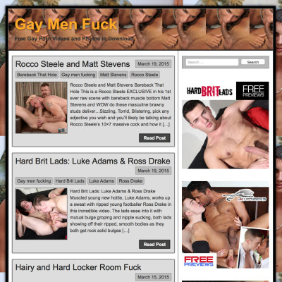 Gay Men Fuck